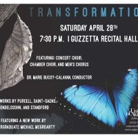 Transformation - UA Choral Concert