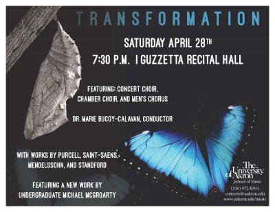 Transformation - UA Choral Concert