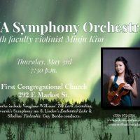 UA Symphony Orchestra with Violinist Minju Kim