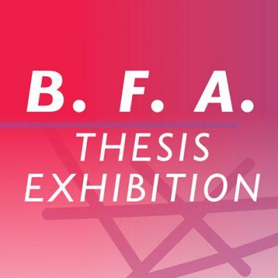 Kent State BFA Thesis Exhibition