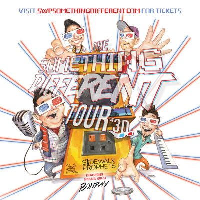Sidewalk Prophets - Something Different Tour in 3D