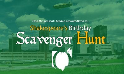 Akron's Shakespeare Scavenger Hunt