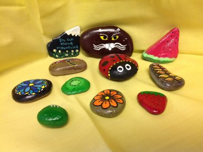 "Art on the ""Rocks"""