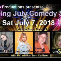 Rockin' July Comedy Show With Ray Gootz & Jax Dell'Osso