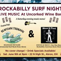 Surf Rock & Rockabilly at Uncorked Wine Bar