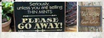 Sassy sign workshop