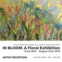 IN BLOOM: A Floral Exhibition RECEPTION