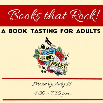 Books that Rock! A book tasting for adults