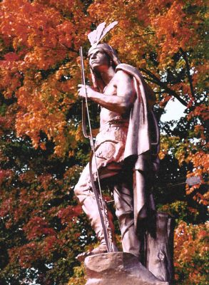 Chief Hopocan Statue