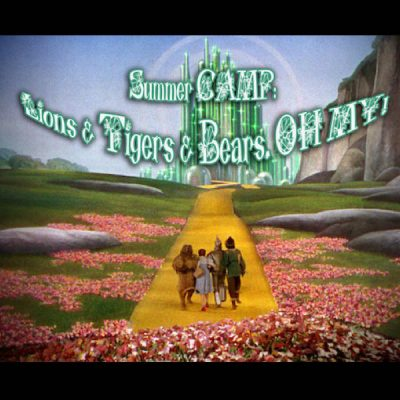 REGISTER for Summer Theatre CAMP: Lions & Tigers & Bears. OH MY!
