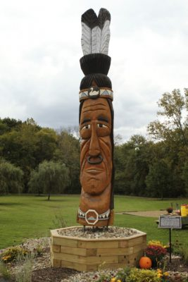 Chief Wagmong Statue