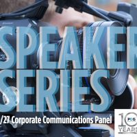 PEG Speaker Series: Corporate Communications Panel