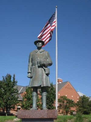 Stow Doughboy Statue