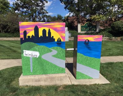 Electrical Box Creations #5 - Maryann Rodin