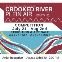 Crooked River Plein Air COMPETITION