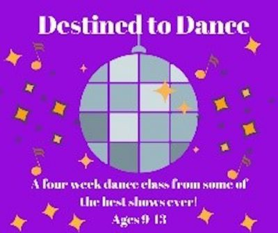 Destined to Dance: Broadway Showstoppers (9-13)