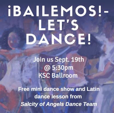¡Bailemos! Let's Dance