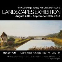 CVAC Landscapes Exhibition Reception
