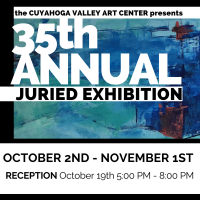 CVAC 35th Annual Juried Exhibition RECEPTION