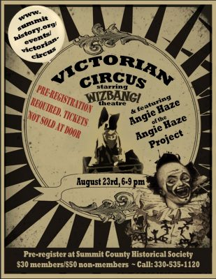 Victorian Circus Featuring Angie Haze and Starring...
