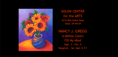 A Million Colors Fill My Mind: Artist, Nancy Gregg
