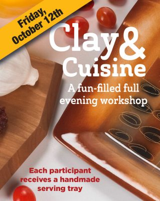 Clay & Cuisine Workshop