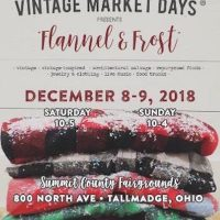 """Flannel & Frost"" Vintage Market Days Akron Metro"