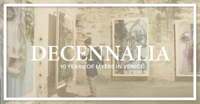 Reception for Decennalia: 10 Years of Myers in Ven...