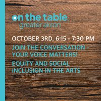 On The Table - EQUITY & SOCIAL INCLUSION IN THE ARTS