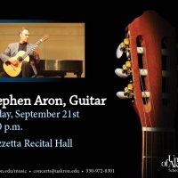 Guest Guitarist Stephen Aron