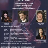 University of Akron String Day