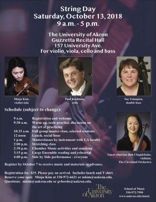 University of Akron String Day