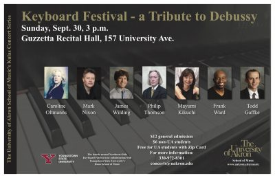 A Tribute to Debussy-Keyboard Festival