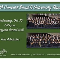 UA Concert and University Band