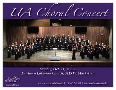 UA Choral Concert