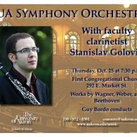 UA Symphony Orchestra with Faculty Clarinetist Stanislav Golovin