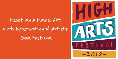 Meet and Make Art with International Artists Boa M...