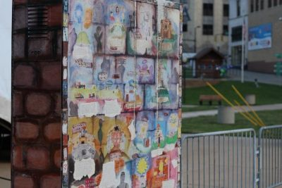 Mixed Media Electrical Boxes