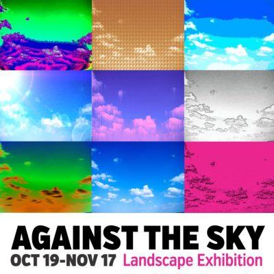 Against the Sky Landscape Exhibition Artist Panel