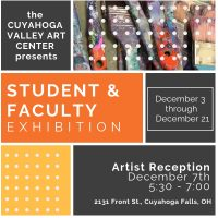 CVAC: Student and Faculty Exhibition