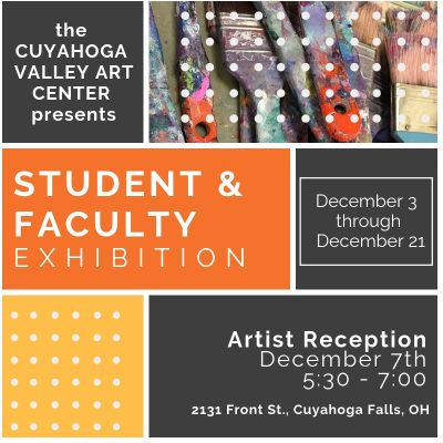 CVAC: Student and Faculty Exhibition ARTISTS RECEPTION