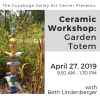 Ceramic Workshop: Garden Totem