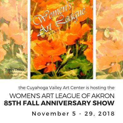 Women's Art League of Akron's 85TH ANNIVERSARY SHO...