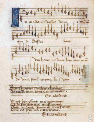 Les Délices Leuven Songbook