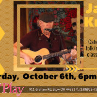 JAMES KNIGHT, Live On The Cafe Stage!