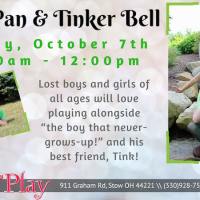 PETER PAN AND TINKER BELL CHARACTER VISIT.