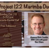 Project 122 Marimba Duo