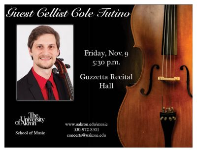 Guest Cellist Cole Tutino