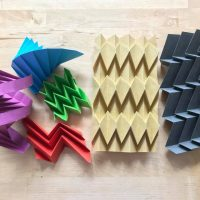Corrugation Basics Origami with James W. Peake