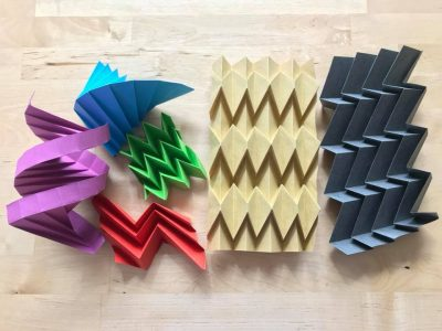 Corrugation Basics Origami with James W. Peake